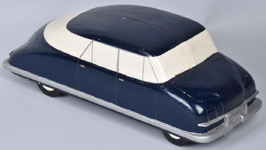 ORIGINAL 1940s CHRYSLER WOODEN STYLE MODEL - 4