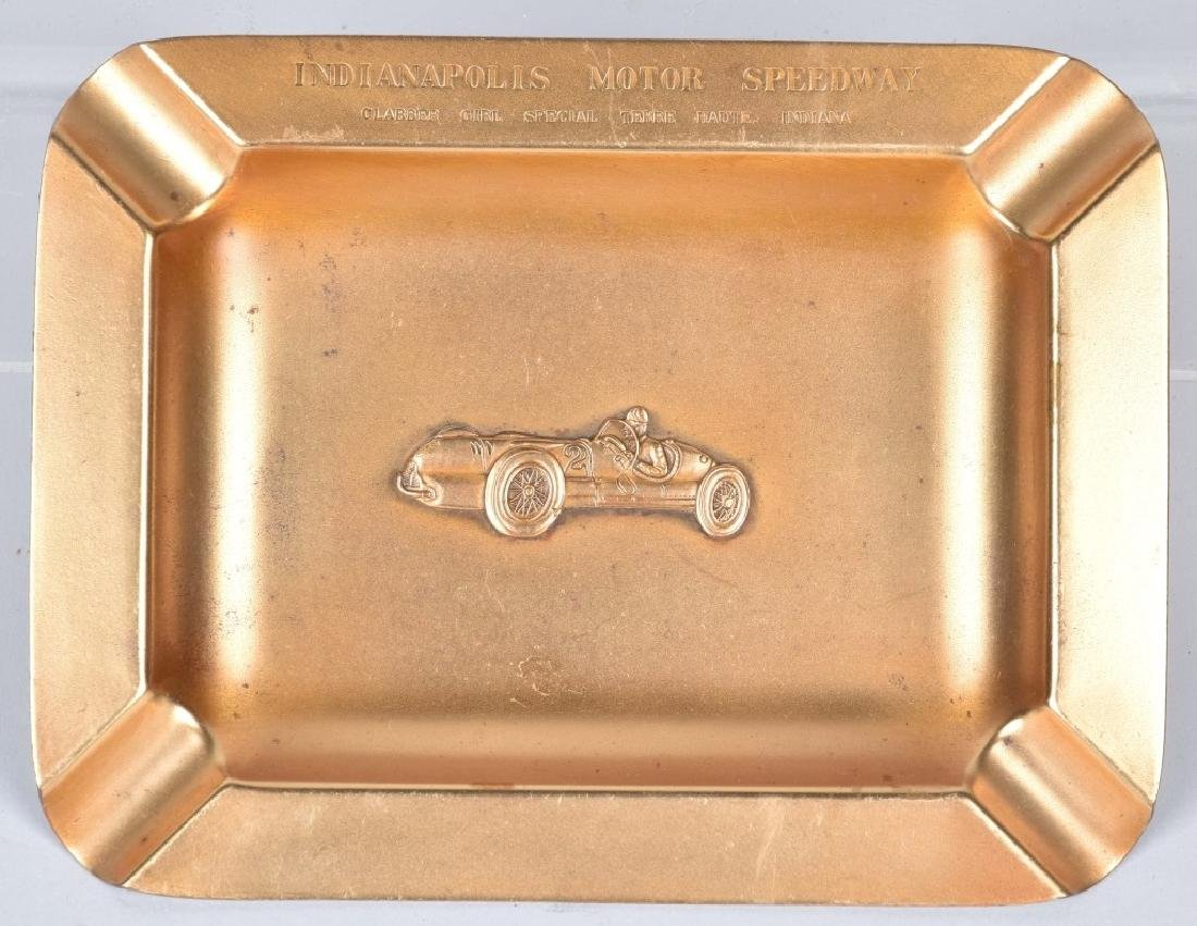 1947 INDIANAPOLIS SPEEDWAY CLABBER GIRL ASH TRAY