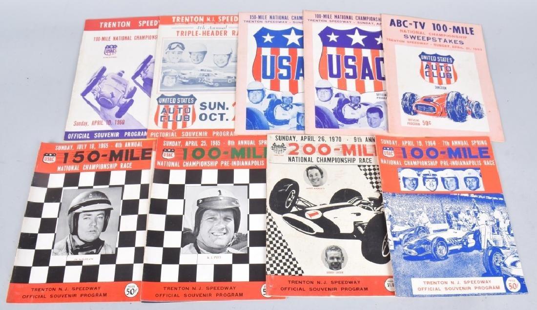 11- 1960s TRENTON SPEEDWAY PROGRAMS