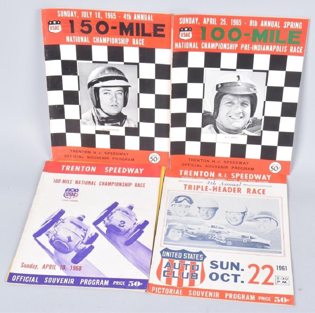 11- 1960s TRENTON SPEEDWAY PROGRAMS - 2