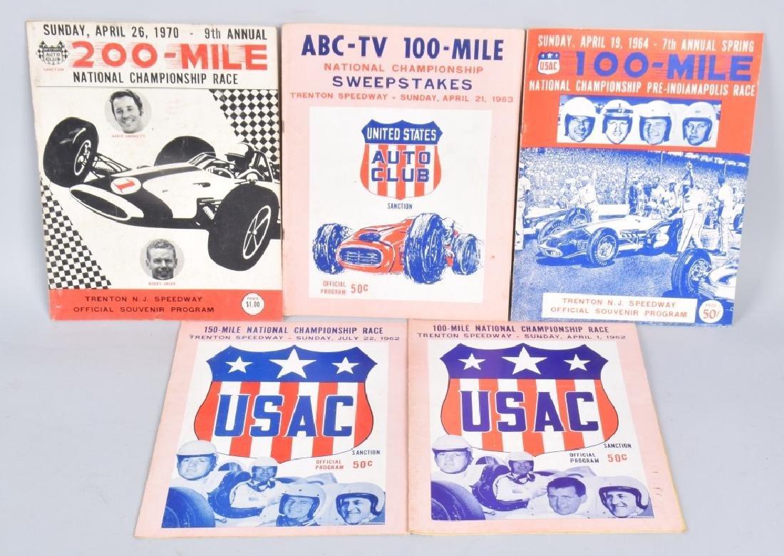 11- 1960s TRENTON SPEEDWAY PROGRAMS - 3