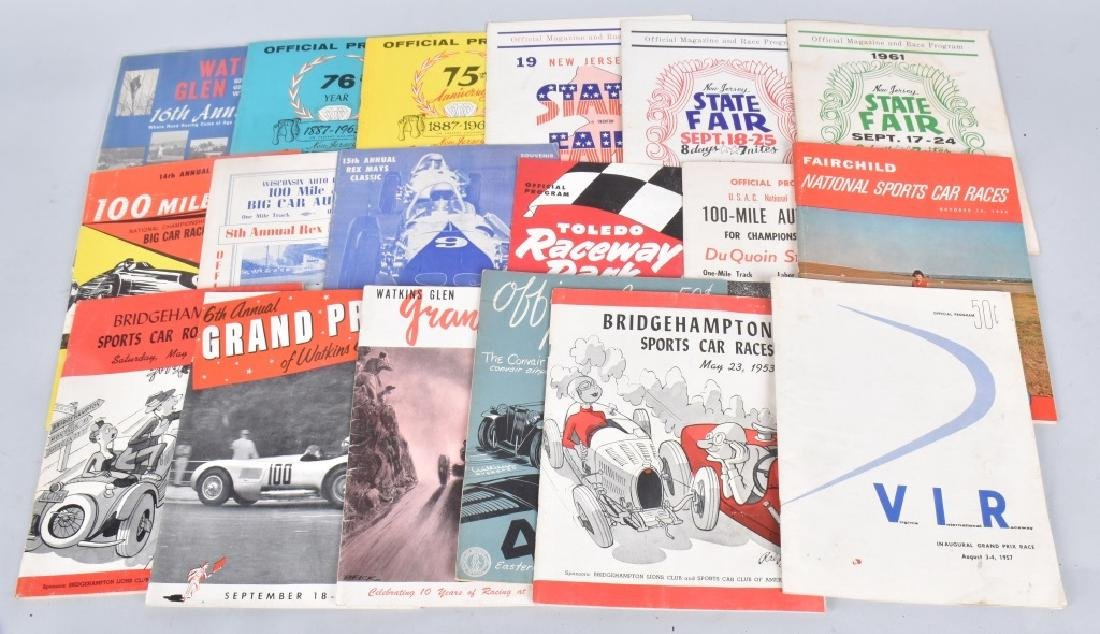 18- 1950s-60s SPPEDWAY RACING PROGRAMS