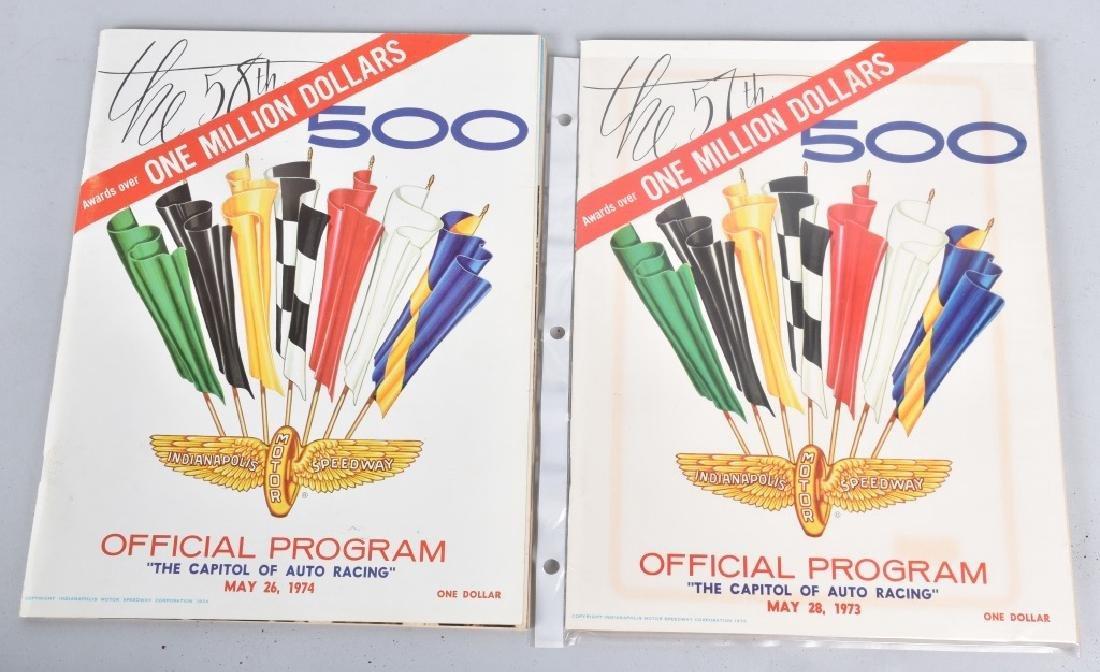 21- 1970-1980 INDIANAPOLIS 500 PROGRAMS - 2