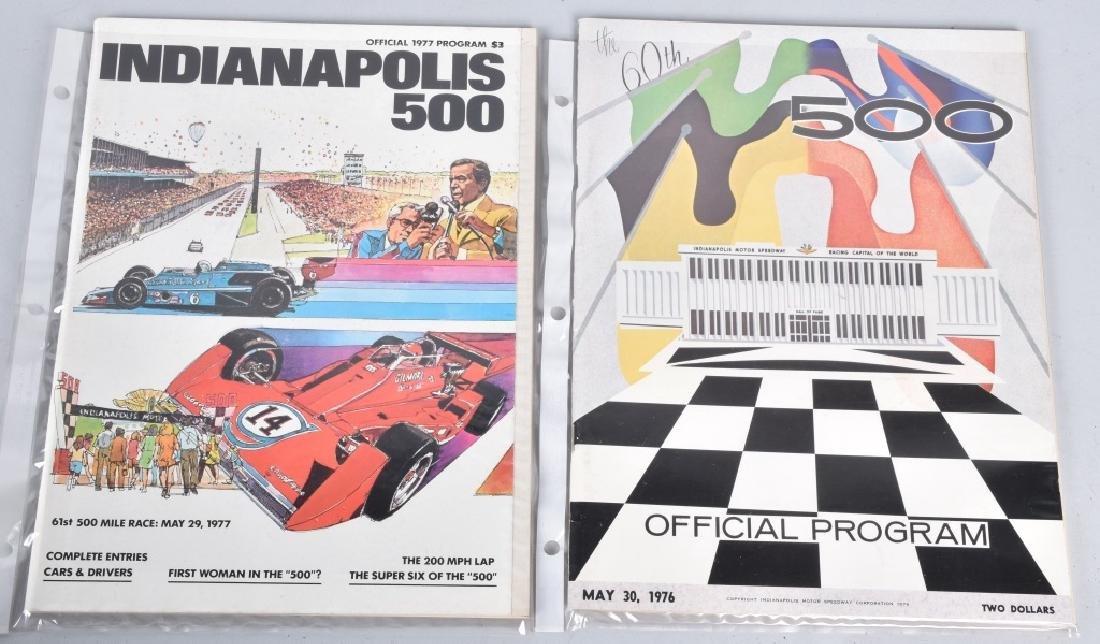 21- 1970-1980 INDIANAPOLIS 500 PROGRAMS - 3