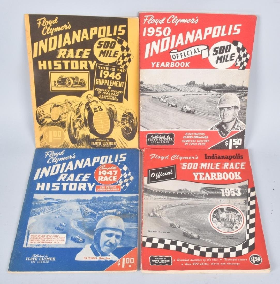 16- 1940s-70s FLOYD CLYMERS INDY 500 YEARBOOKS - 4