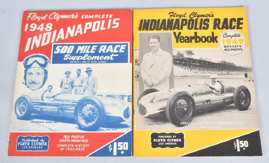 16- 1940s-70s FLOYD CLYMERS INDY 500 YEARBOOKS - 5