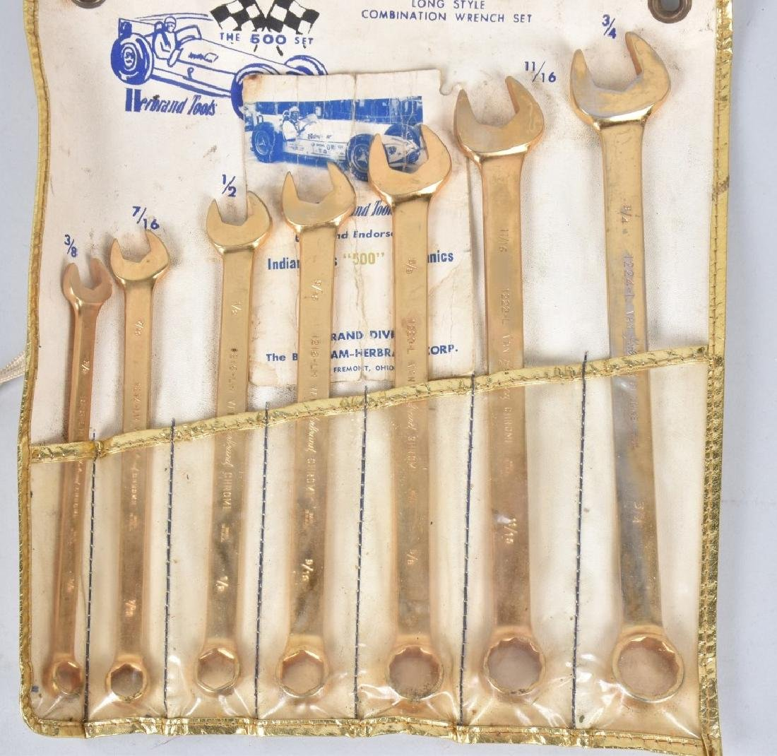 HERBRAND TOOLS INDY 500 GOLD WRENCH SET - 3