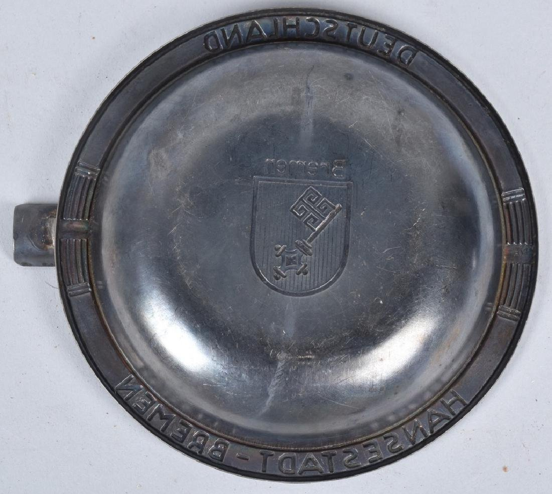 PAIR OF ASH TRAYS FROM THE SS BREMEN SHIP - 5
