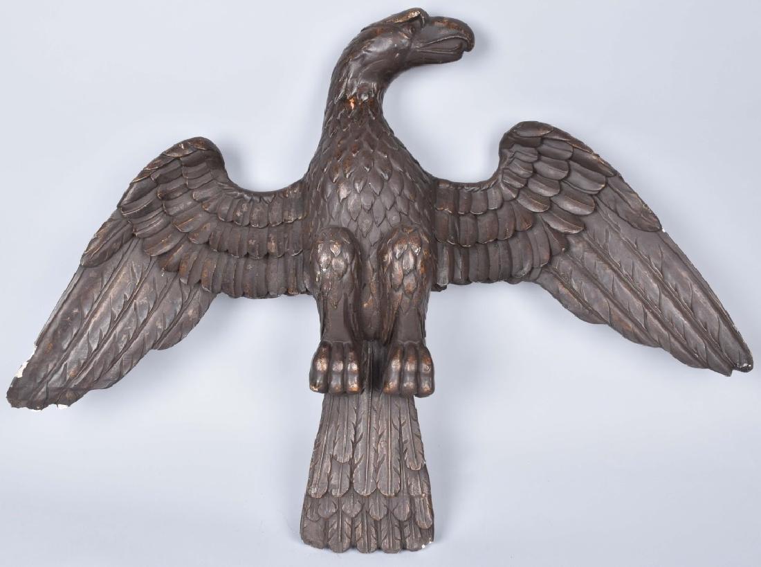 """42"""" VINTAGE SPREAD WING AMERICAN EAGLE"""