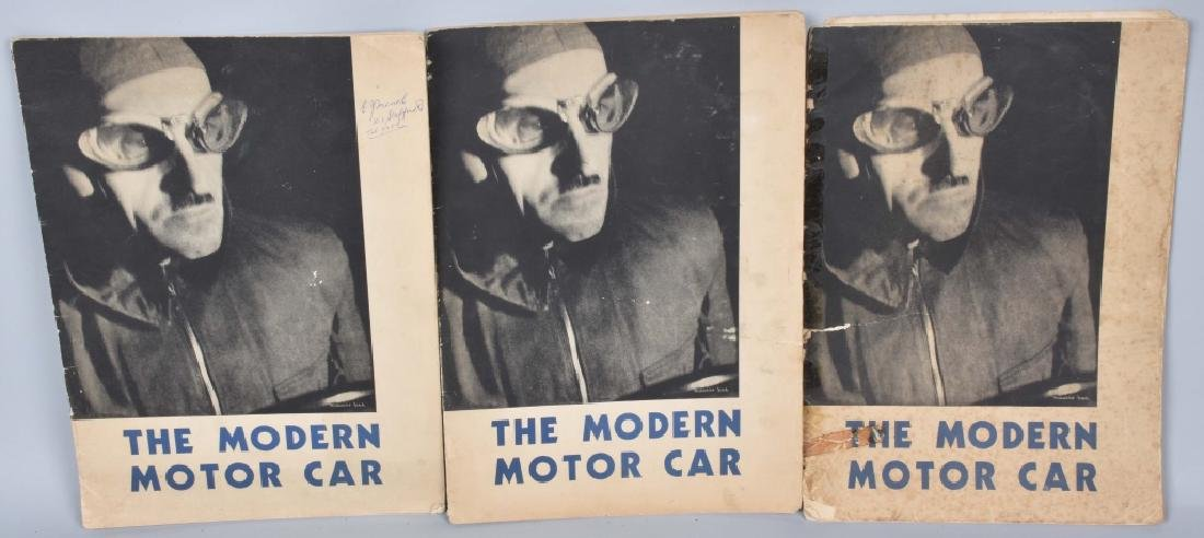 3- 1930s THE MODERN MOTOR CAR By SHELL OIL