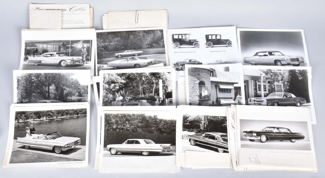 1950s-60s CADILLAC OFFICAL PHOTOS & PRESS RELEASE