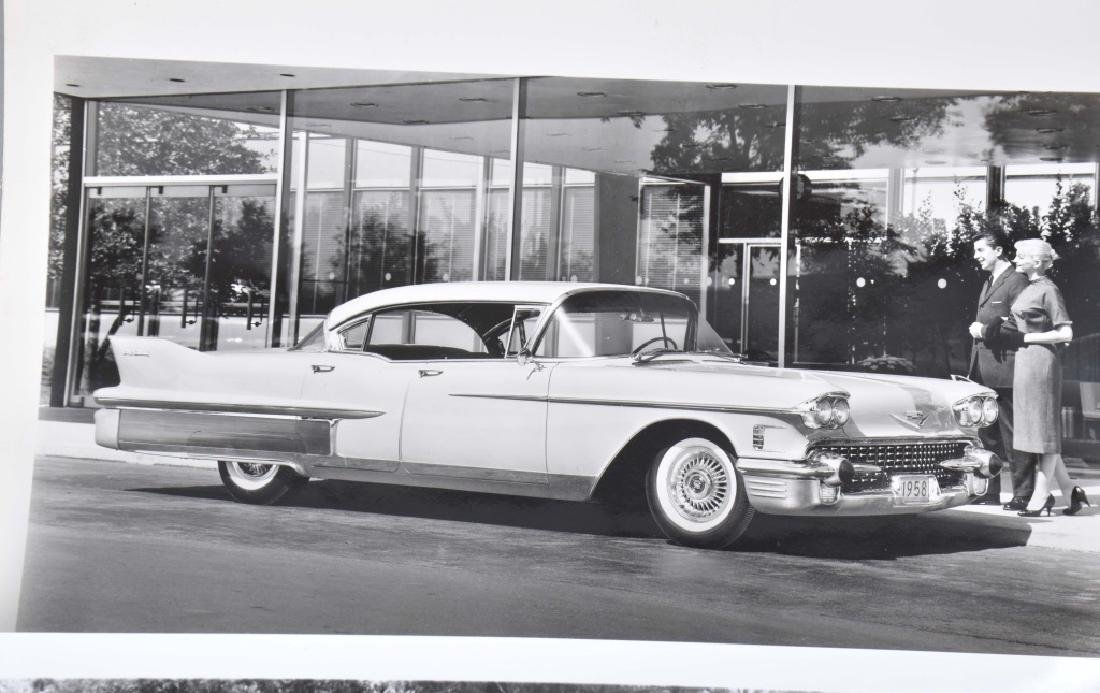 1950s-60s CADILLAC OFFICAL PHOTOS & PRESS RELEASE - 3