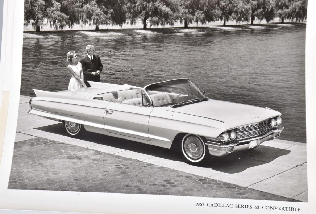 1950s-60s CADILLAC OFFICAL PHOTOS & PRESS RELEASE - 4