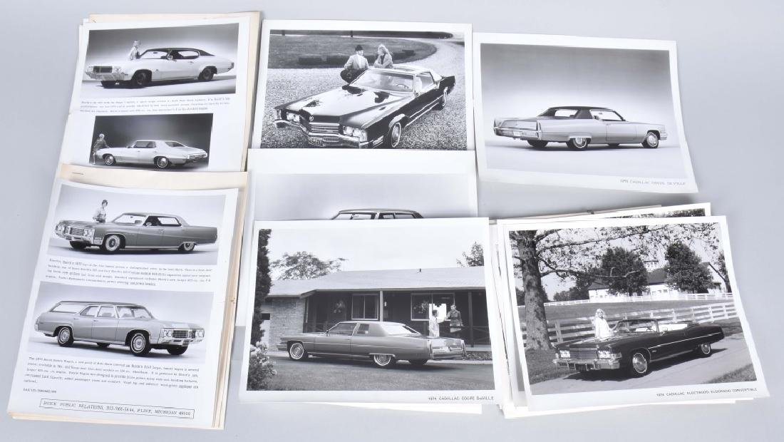 1950s-60s CADILLAC OFFICAL PHOTOS & PRESS RELEASE - 5