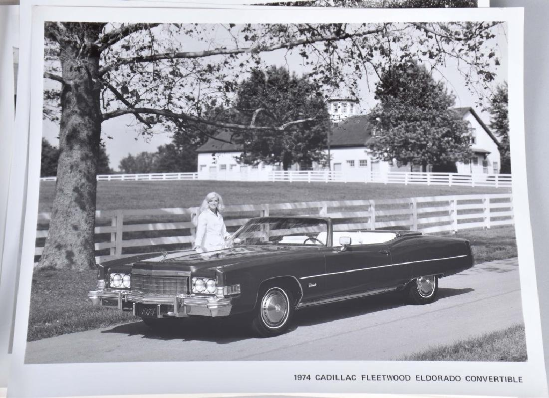 1950s-60s CADILLAC OFFICAL PHOTOS & PRESS RELEASE - 7