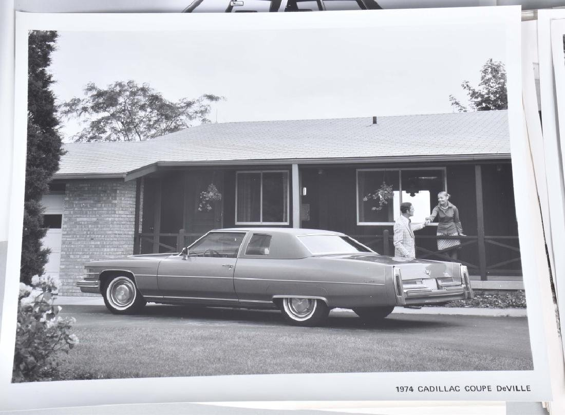1950s-60s CADILLAC OFFICAL PHOTOS & PRESS RELEASE - 8
