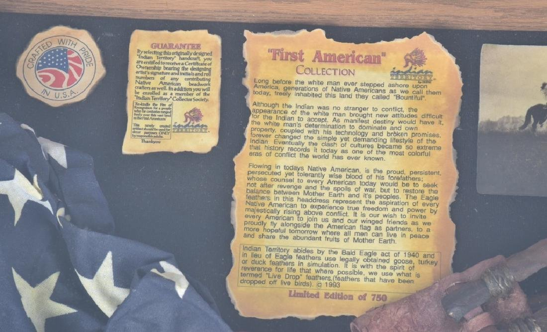 "INDIAN TERRITORY ""FIRST AMERICAN"" w/ CASE - 3"