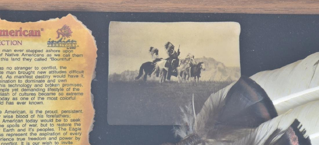 "INDIAN TERRITORY ""FIRST AMERICAN"" w/ CASE - 4"