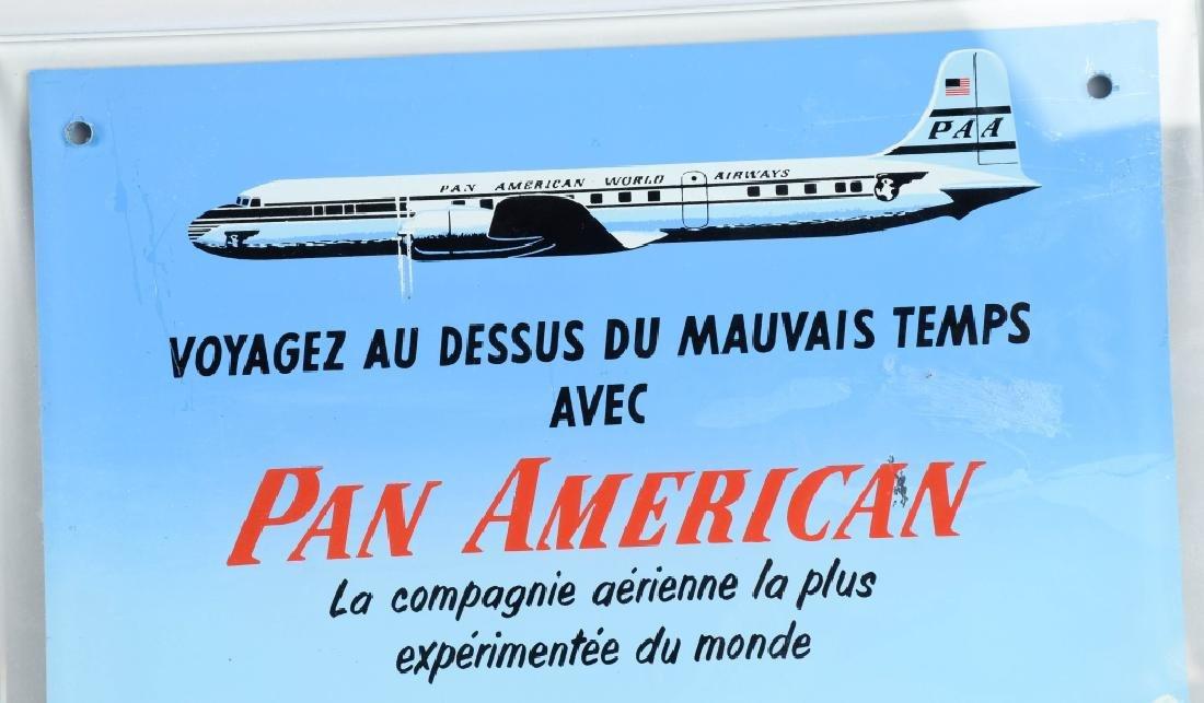 VINTAGE PAN AMERICAN AIRLINES BAROMETER - 2