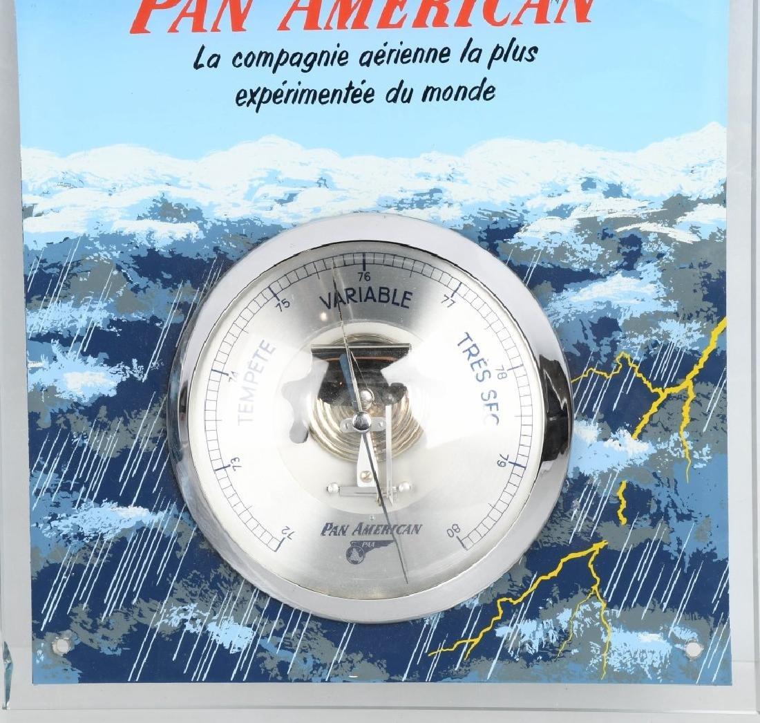 VINTAGE PAN AMERICAN AIRLINES BAROMETER - 3