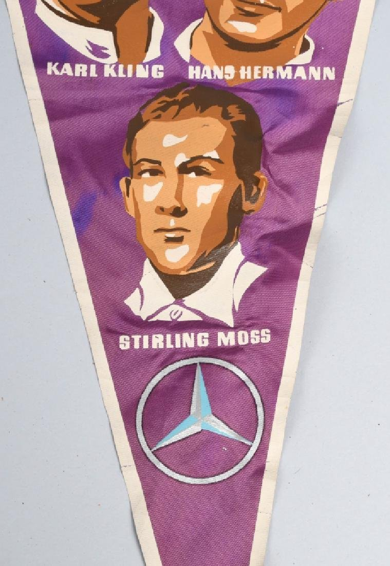2- FOREIGN RACE CAR BANNERS - 7