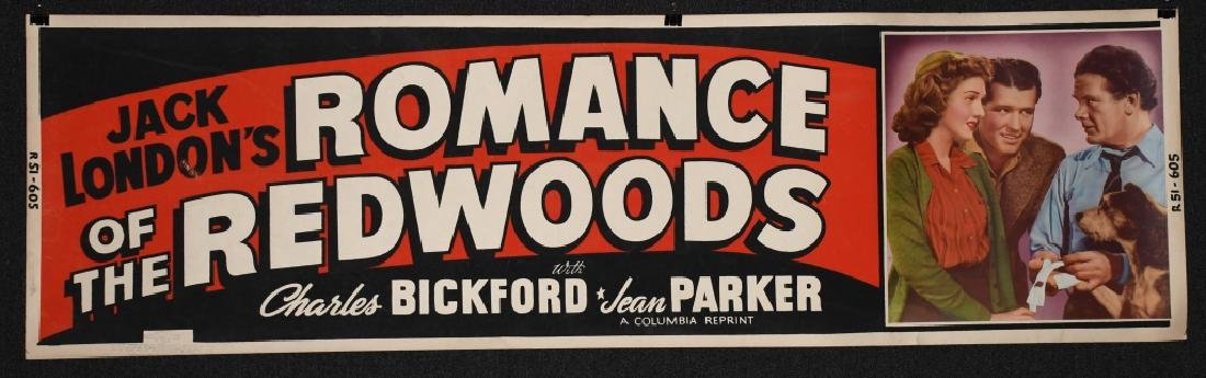 3- 1940s BANNER SIZE MOVIE POSTERS