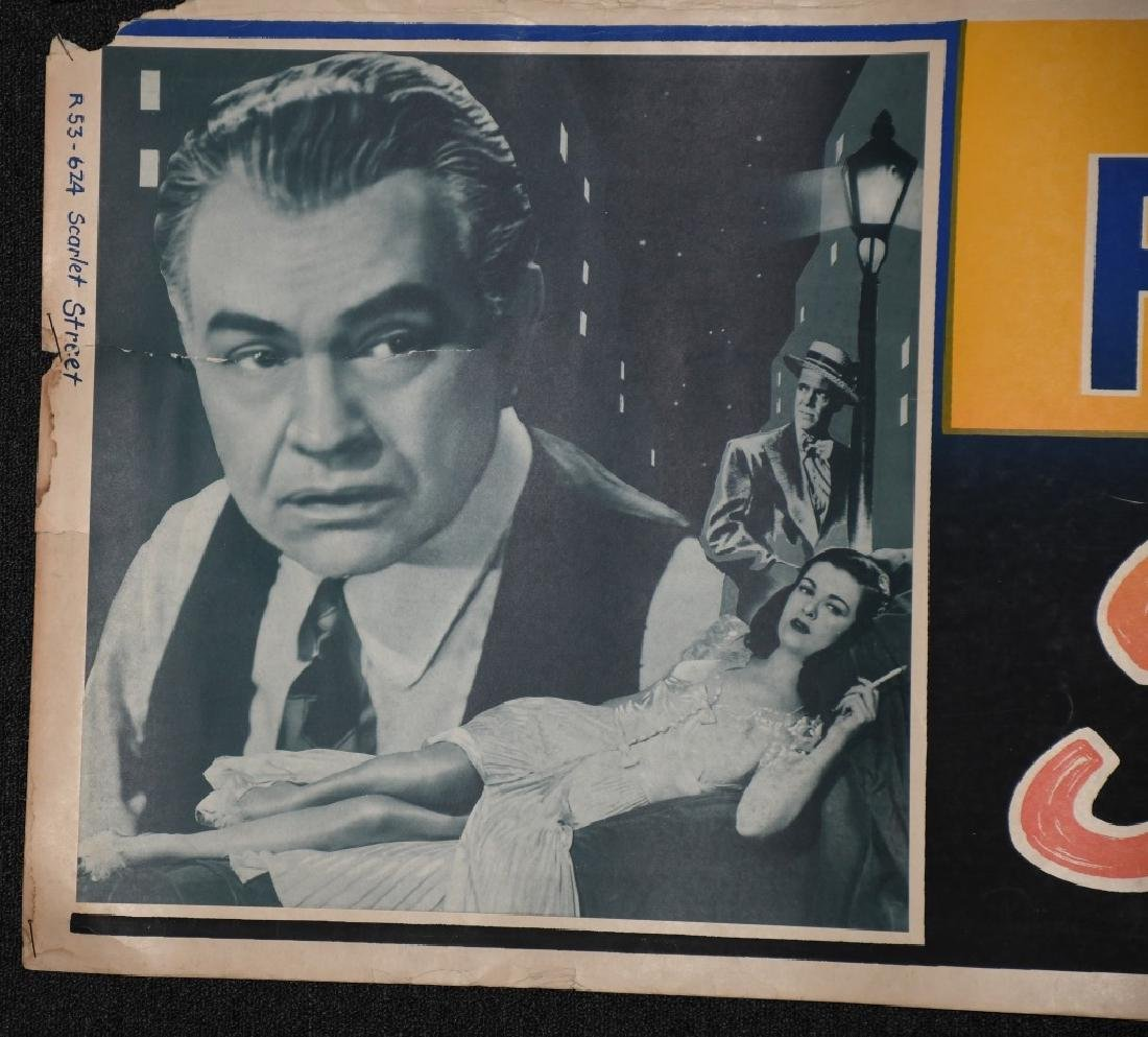 3- 1940s BANNER SIZE MOVIE POSTERS - 2
