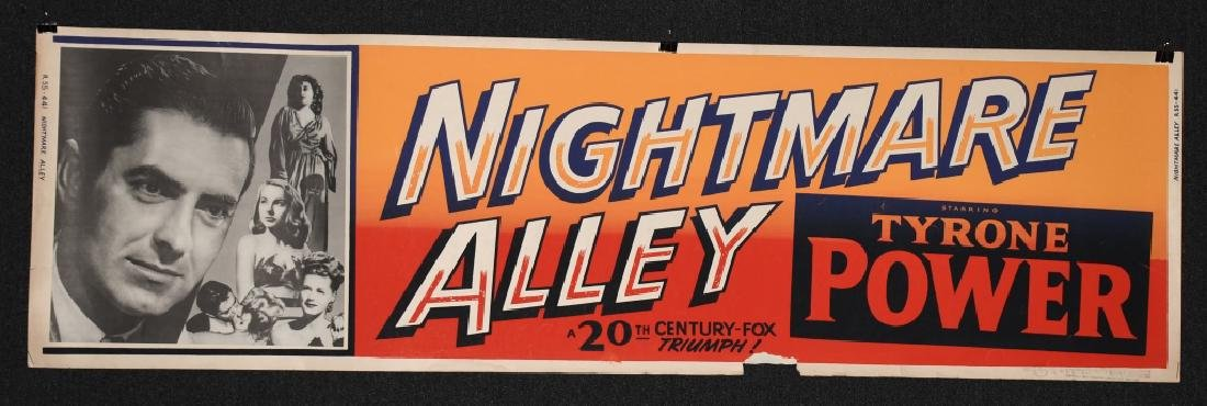 3- 1940s BANNER SIZE MOVIE POSTERS - 3