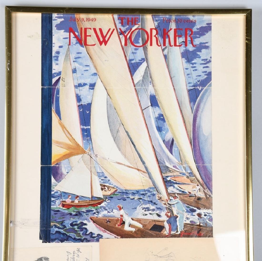 "GARRETT PRICE ""NEW YORKER ARTIST"" ORIGINAL SKETCH - 4"