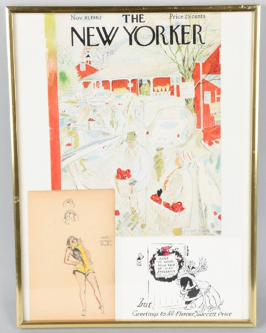 "GARRETT PRICE ""NEW YORKER ARTIST"" ORIGINAL SKETCH"