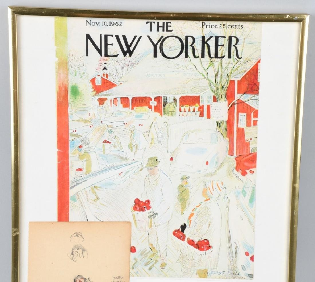"GARRETT PRICE ""NEW YORKER ARTIST"" ORIGINAL SKETCH - 4"