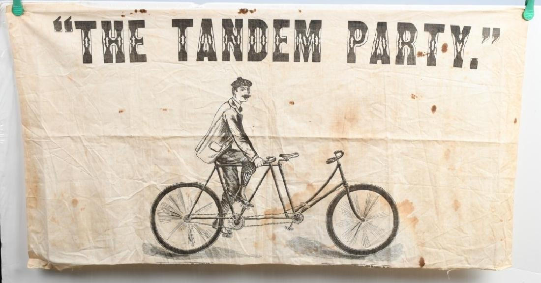 1897 TANDEM PARTY BICYCLE GAME