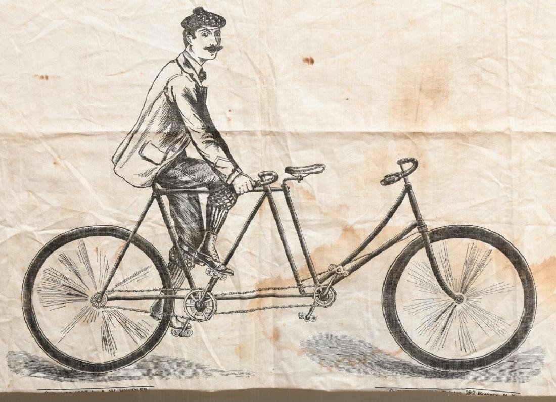 1897 TANDEM PARTY BICYCLE GAME - 2