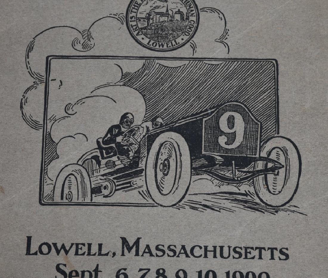 1909 MERRIMACK RACE CAR PROGRAM - 2