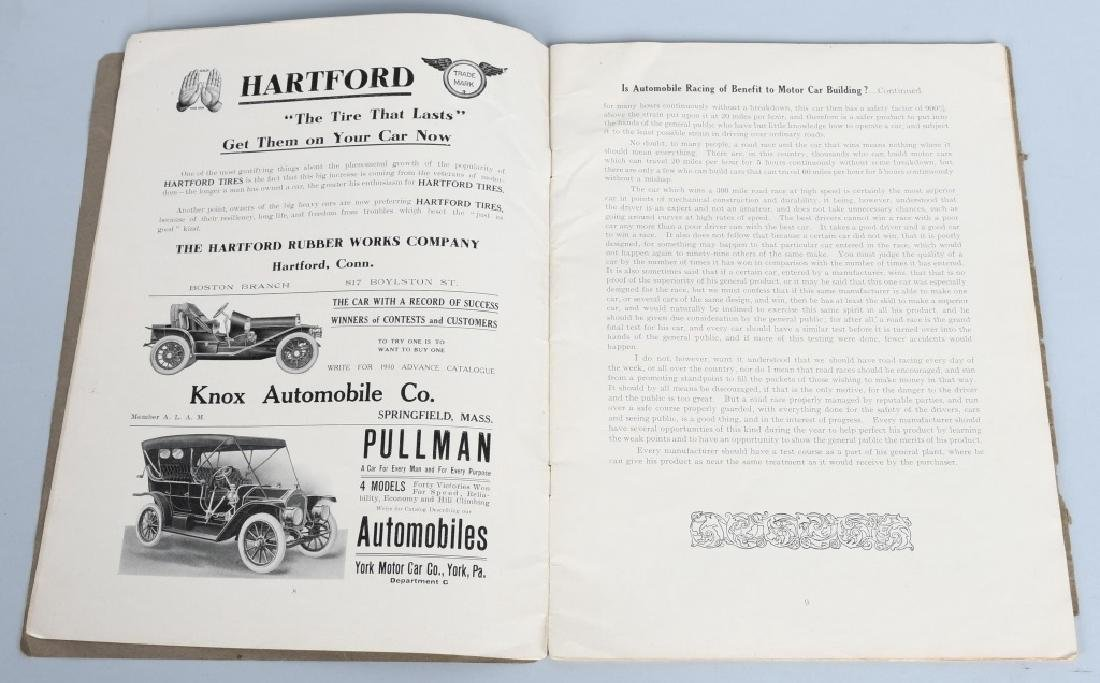 1909 MERRIMACK RACE CAR PROGRAM - 3