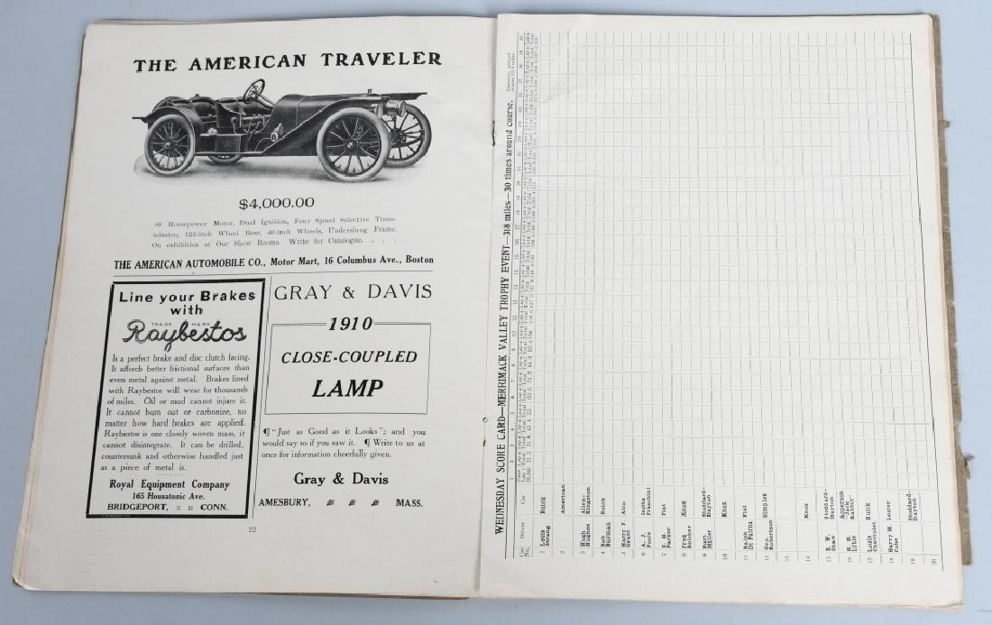 1909 MERRIMACK RACE CAR PROGRAM - 4
