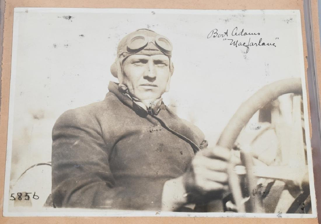EARLY RACE CAR DRIVER SIGNED PICTURES & PRINT - 10