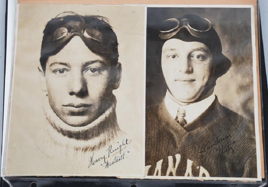EARLY RACE CAR DRIVER SIGNED PICTURES & PRINT - 4
