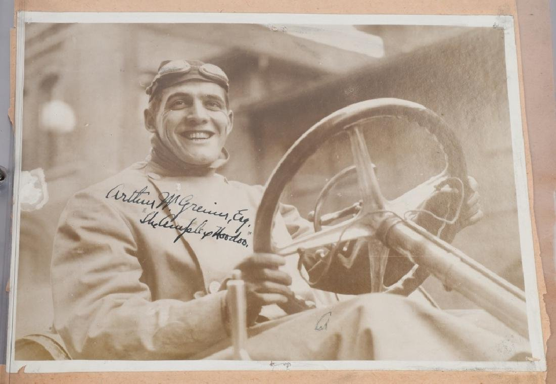 EARLY RACE CAR DRIVER SIGNED PICTURES & PRINT - 6