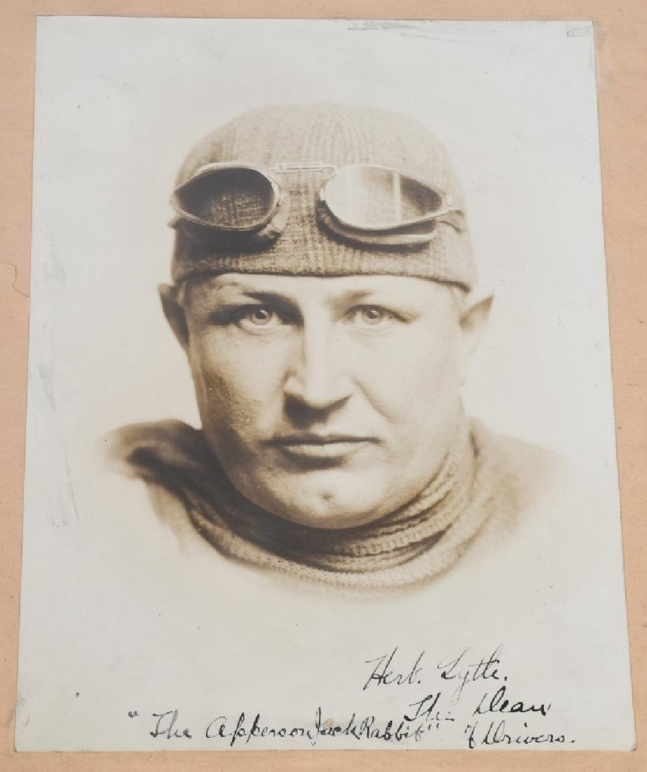 EARLY RACE CAR DRIVER SIGNED PICTURES & PRINT - 7