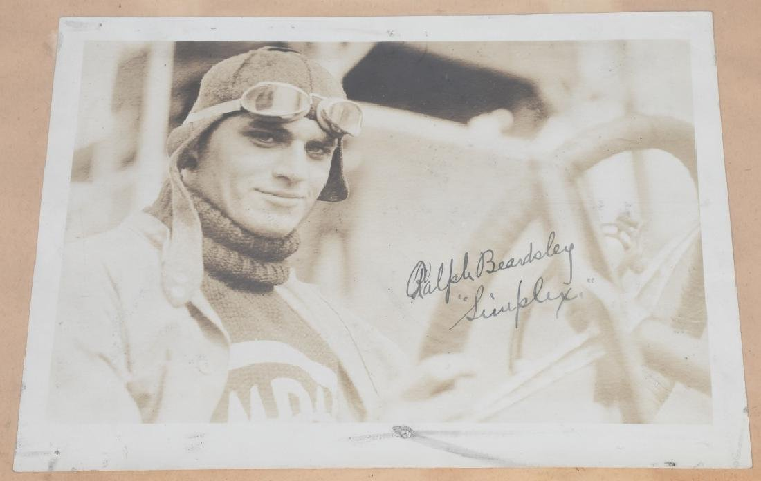 EARLY RACE CAR DRIVER SIGNED PICTURES & PRINT - 8