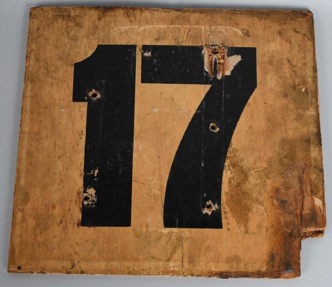 1933 MG NUVOLARI K3 RACE CAR #17 NUMBER - 2