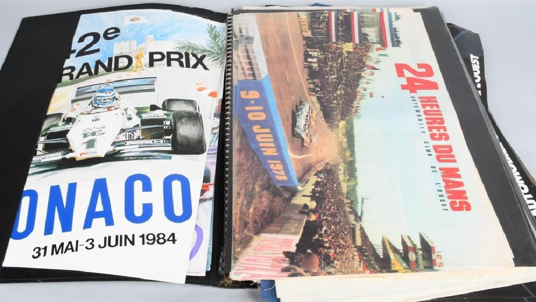 HUGE COLLECTION OF GRAN PRIX RACING POSTERS