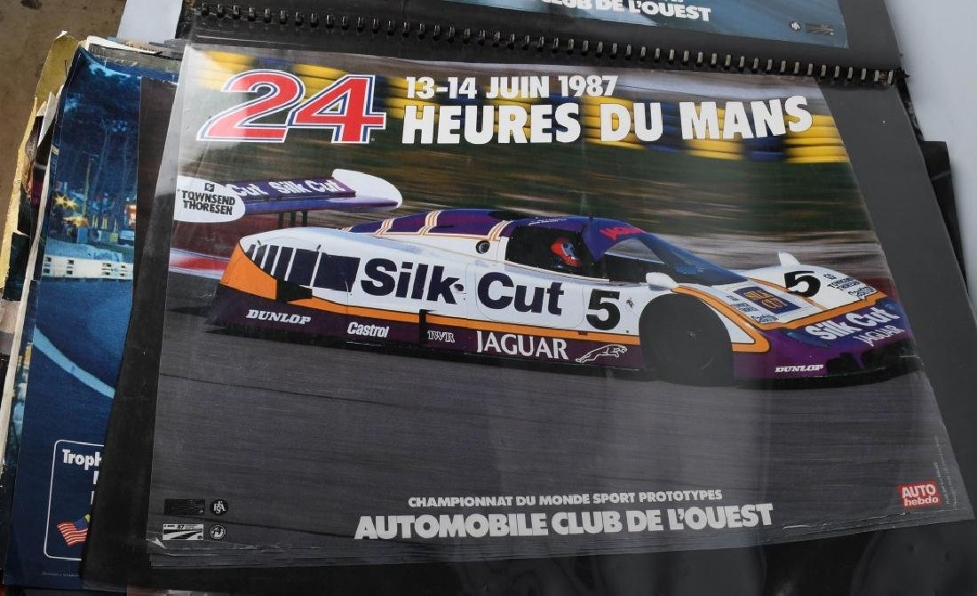 HUGE COLLECTION OF GRAN PRIX RACING POSTERS - 5