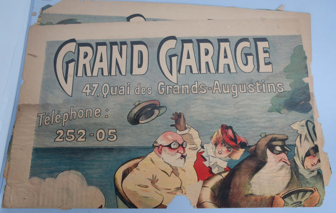 1900s FRENCH GRAND GARAGE POSTER
