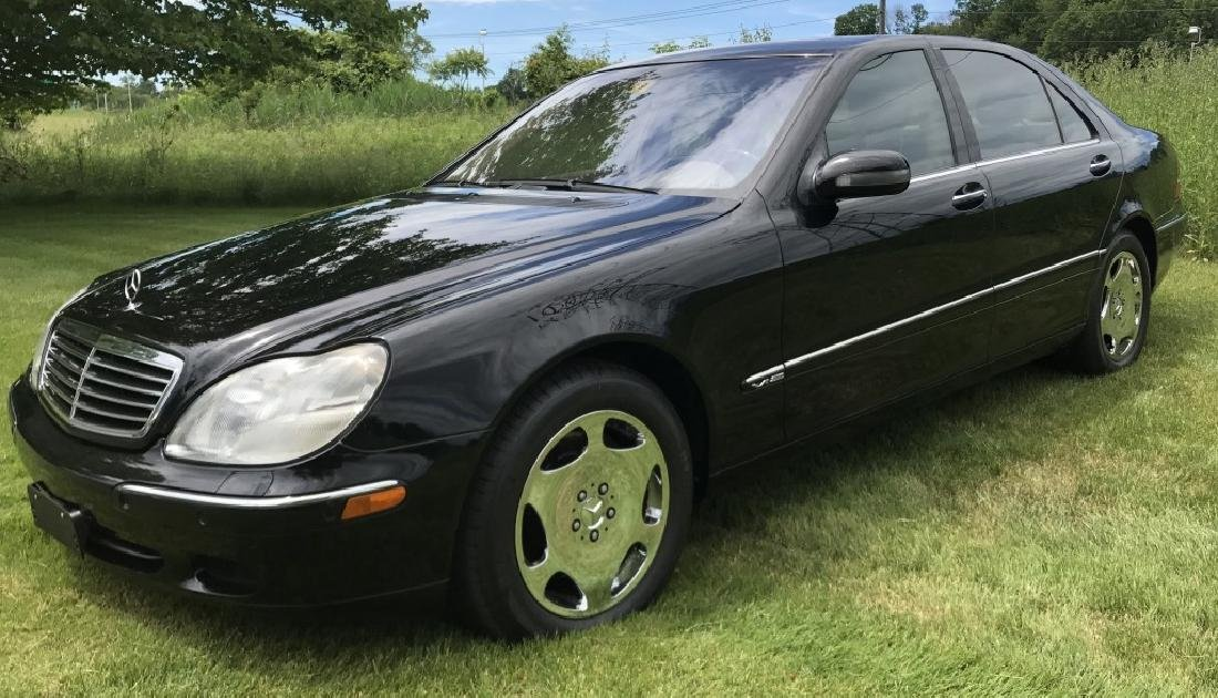 2001 MERCEDES BENZ S 600 SEDAN