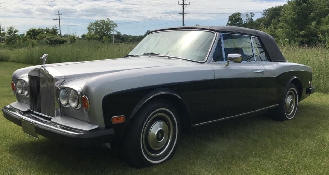 1981 ROLLS ROYCE CORNICHE CONVERTIBLE 15707 Miles