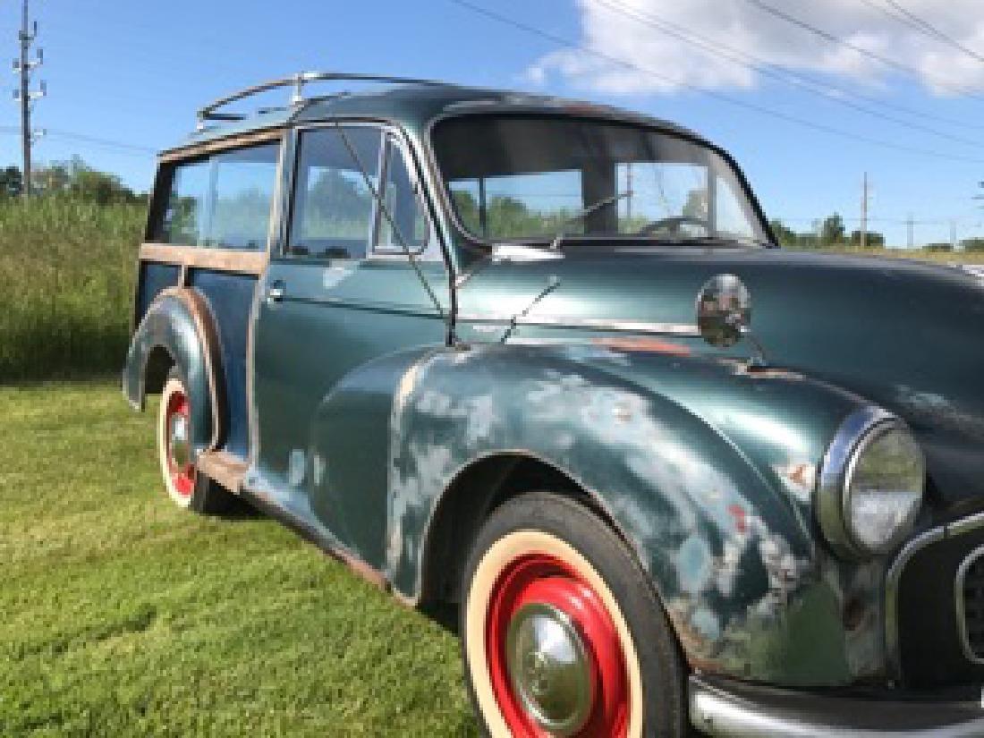 1960 MORRIS MINOR 1000 TRAVELER WOODY - 5