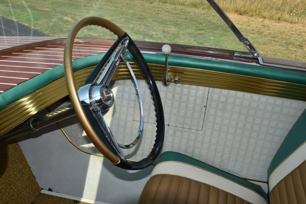 1961 CHRIS CRAFT 21' CONTINENTAL WOOD BOAT w/FINS - 6