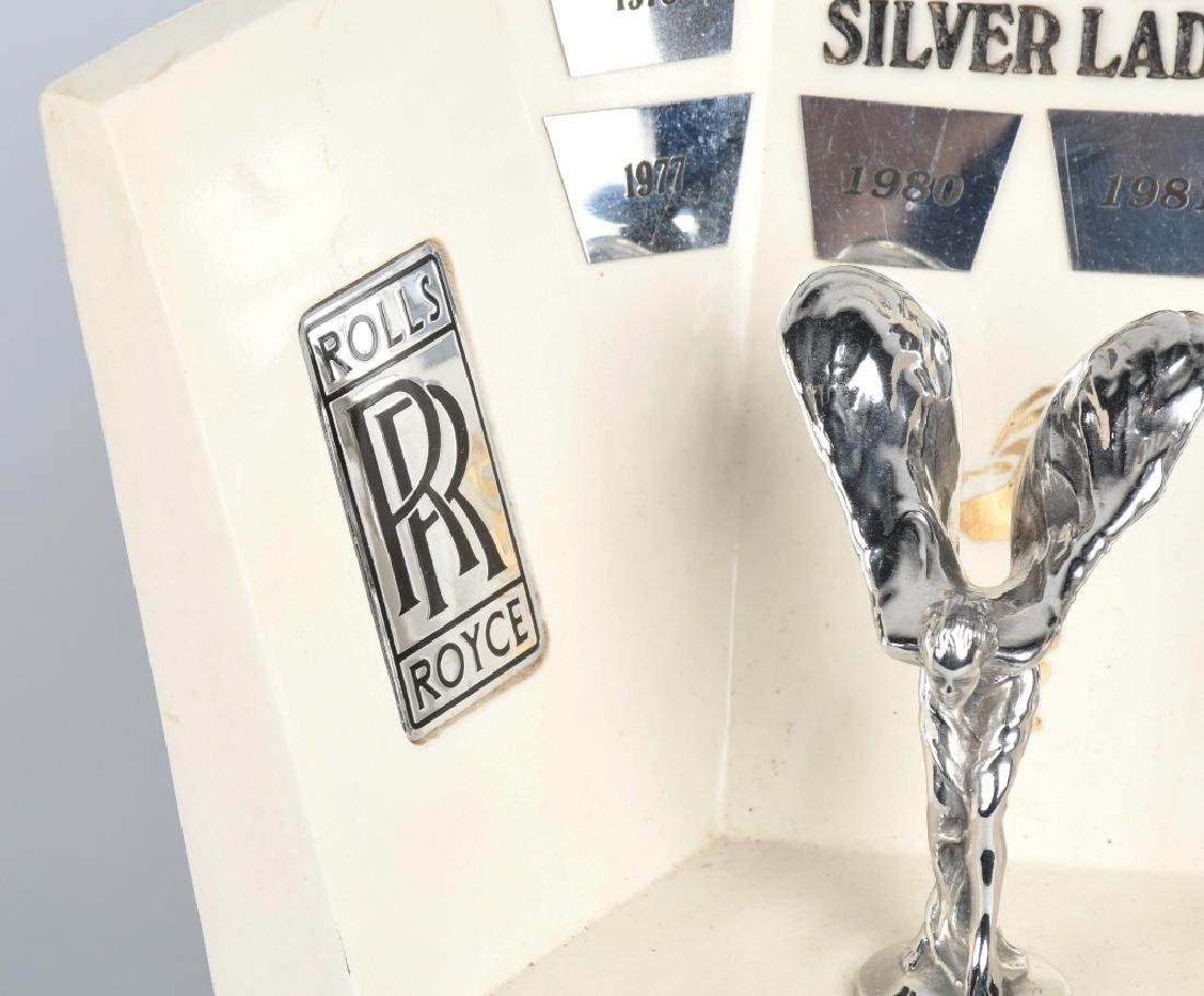 ORDER OF THE SILVER LADY ROLLS ROYCE DEALER AWARD - 3